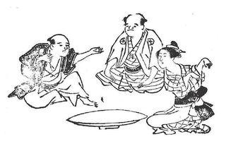 800px-Kitsune-ken_(狐拳),_Japanese_rock-paper-scissors_variant,_from_the_Genyoku_sui_bento_(1774).jpg