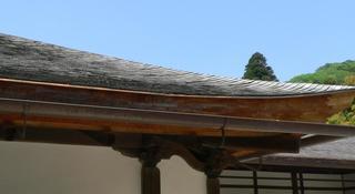 杮葺の屋根(慈照寺).jpg