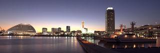 黄昏時の神戸港.jpg